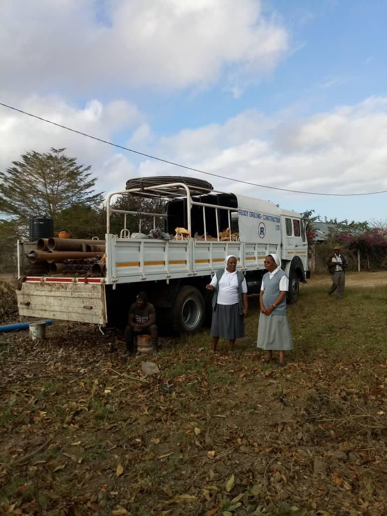 Perforazione pozzo a Morogoro